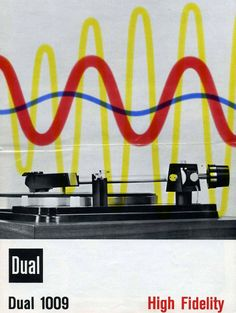 Vintage ad for Dual 1009 turntable