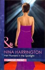 NEW Her Moment in the Spotlight by Nina Harrington Hardcover Book (English) Free
