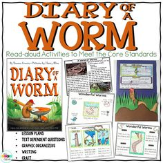 Diary of a Worm compare and contrast read-aloud lessons.