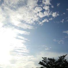 おはようございます昨夜は豪雨で家の前の道が冠水してました今日は暑くなりそうですね(; #sky #cloud #空 #雲 #イマソラ #goodmorning #おはよう