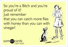Image result for you catch more flies with honey than you do with vinegar