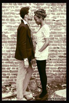 .They look like a beautiful couple.