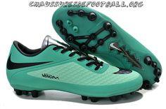 best service accd1 adb3a Nike Hypervenom Phantom AG Chaussures de football Seafoam Negro Best Soccer  Shoes, Soccer Boots