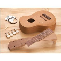H3125 Ukulele Kit by Grizzly
