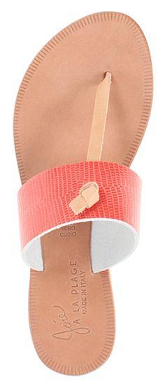 b6630c5cd42  Joie  coral sandals Sandalias De Cuero