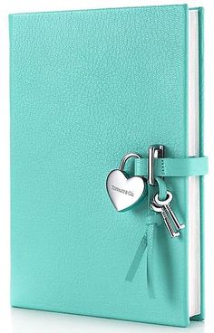 Tiffany Diary. If i ever have a girl she will get for her 16th b-day! Great gift or i would use it as a notebook for work