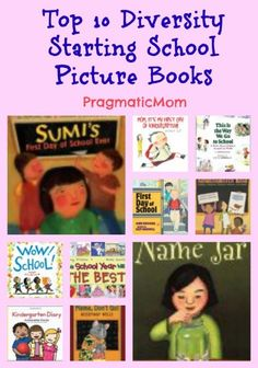 Starting Preschool or Kindergarten Picture Books for Kids: A Multicultural Book Roundup! :: PragmaticMom