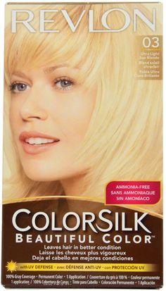 Revlon Colorsilk Hair Color 60 Dark Ash Blonde The