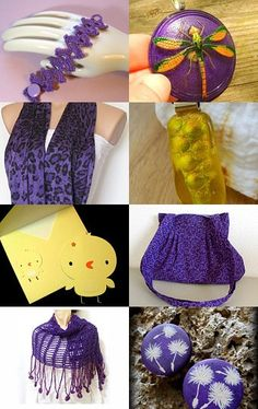 Lavender #Crochet #Lace #Bracelet https://www.etsy.com/listing/48022539/purple-crochet-cuff-bracelet-lavender?ref=af_shop_favitem is featured in this beautiful @Etsy treasury --Pinned with TreasuryPin.com