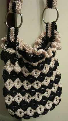 Beautiful RARE Handmade in USA Purse Bag with Soda Can Pull Tabs New | eBay