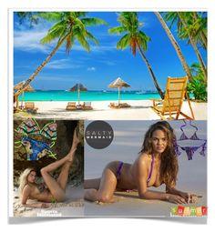 """Life is good an beach"" by kiveric-damira ❤ liked on Polyvore featuring Summer, beach, bikini and saltymermaid"