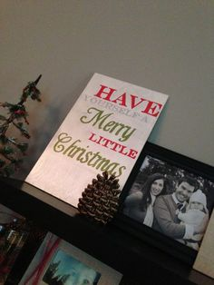 My Happy House: DIY Christmas Sign