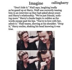 Find images and videos about Harry Styles and imagine on We Heart It - the app to get lost in what you love. One Direction Louis, One Direction Images, One Direction Quotes, Cute Imagines, Harry Imagines, 5sos Imagines, Harry Styles Images, One Direction Cartoons, Just Friends