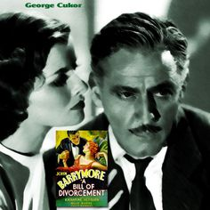"""""""Do you know what the dead do in Heaven? They sit on their golden chairs and sicken for home. """" A Bill of Divorcement (1932) Director: George Cukor Writers: Howard Estabrook.  Stars: John Barrymore, Katharine Hepburn, Billie Burke, David Manners, Paul Cavanagh, Henry Stephenson, Gayle Evers, Elizabeth Patterson."""
