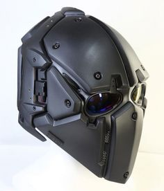 DevTac Ronin Kevlar Level 3A Tactical Ballistic Bullet Proof Helmet. http://popularairsoft.com/devtac-ronin-airsoft-mask-now-has-ballistic-helmet-version and/or http://everydaynodaysoff.com/2015/06/01/devtac-ronin-kevlar-ballistic-helmet-mall-ninjas-rejoice/ and/or http://facebook.com/DEVTAC/posts/765794966801592