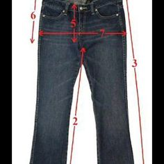 Proper Guidelines How To Measure Jeans Pants Selling Clothes Best Jeans Reselling Clothes