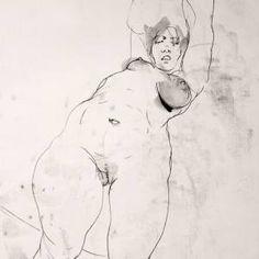 NUDE No. 3563 (100 x 70 cm) Michael Lentz