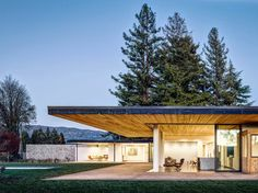 Modern House Design : Oak Knoll Residence by Jørgensen Design Residential Architecture, Architecture Design, Plans Architecture, Flat Roof House, California Homes, Napa California, Modern Exterior, Maine House, Modern Architecture