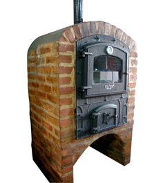 puertas de hornos de leña - Buscar con Google Bbq Firebox, How To Store Bread, Firewood, Stove, Brick, Home Appliances, Pizza, Barbacoa, Patio