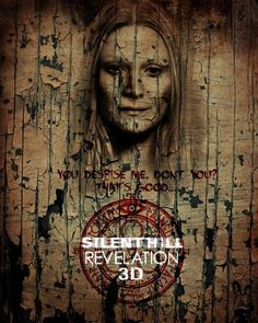 Silent Hill: Revelation 3D - The movie was pretty rough, but someone did a good job with this poster
