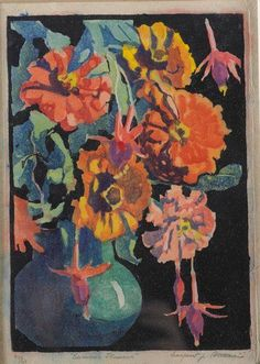 The purpose of this posting is to bring together the flower woodblock-prints for personal reference, recollection und fun.