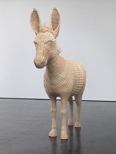 Sculpture by Mai-Thu Perret.