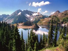 #Hart Lake, Olympic Mountains, Washington  #Travel Washington USA multicityworldtravel.com We cover the world over 220 countries, 26 languages and 120 currencies Hotel and Flight deals.guarantee the best price