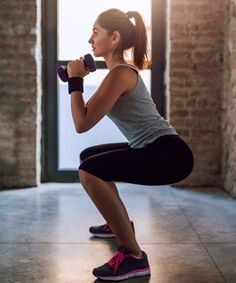Glutes, abs, dorsal, and as long as we take dumbbells, all bump! Fitness Motivation, Sport Motivation, Fitness Tips, Fitness Workouts, Bosu Ball, Tonifier Son Corps, Sport Girl, Physical Fitness, No Equipment Workout