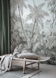 Art & Design is a popular wallpaper category for all rooms and settings. You can count on high quality and fast and free US shipping with Photowall. Wall Wallpaper, Retro Wallpaper, Jungle Bedroom, Standard Wallpaper, Create Your Own Wallpaper, Blue Walls, Cool Walls, Wall Murals, Google Shopping