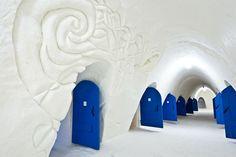 Per i calorosi: Lumilinna Snow Castle di Kemi, in Finlandia, è il più grande palazzo di neve al mondo
