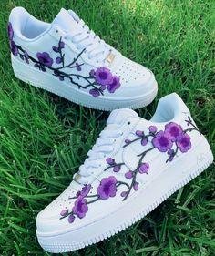 Custom Sneaker by d_customs Jordan Shoes Girls, Girls Shoes, Girls Footwear, Shoes Women, Cool Shoes For Girls, Cute Sneakers, Shoes Sneakers, Af1 Shoes, Ladies Sneakers