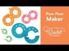 Using a Pom Pom Maker is really super easy. If you have been using your hand or even cardboard, you may enjoy this craft tool so much more. Pom Pom Crafts, Yarn Crafts, Diy Crafts, String Crafts, Craft Stick Crafts, Craft Ideas, Crochet Crowd, Crochet Hats, Pom Pom Maker