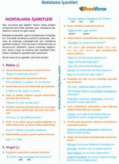 Study Organization, Turkish Language, Study Notes, Grade 1, Learning, School, Seaweed, Studying, Schools