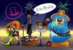 Villanous Viva mexico by MonikSanchezBatsy on DeviantArt Cartoon Fan, Cartoon Memes, Cartoon Drawings, Cartoons, Villainous Dementia, Villainous Cartoon, Nickelodeon, Bendy And The Ink Machine, My Little Pony