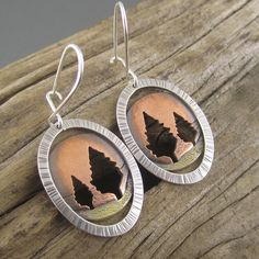 It's so easy to fall in love with these unique earrings! Inspired by the abundant breathtaking colors of autumn in northern Michigan, these beauties are sure to be your go-to earrings all year long. P