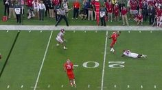 Clemson got called for intentional grounding on this reverse... #ClemsonFootball: Clemson got called for intentional… #ClemsonFootball