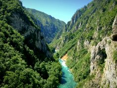 Tara Canyon, Montenegro.  One reason why I think it's the most beautiful country in Europe.