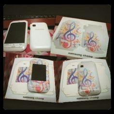 Garskin cute for samsung champ . LOVE it
