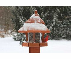 Bird Feeder Octagon Roof