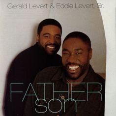 #eddie levert sr. #gerald levert #father & son #music