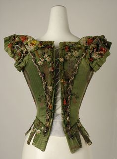 Bodice, 18th century From the METROPOLITAN MUSEUM OF ART