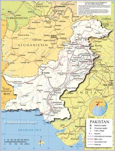 9 Best Pakistan map images in 2018   Pakistan map, History of