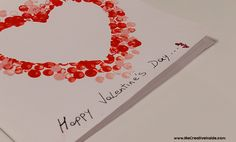 Biglietto San Valentino. Happy Valentine's Day