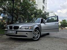 BMW 325i E46 màu bạc đời 2002 đẹp không cần chê .