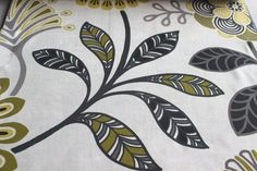 Titanium Yellow Eleta Mela Fabric By The Yard by FabricMart