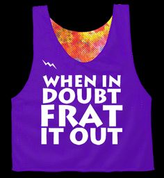 "I'm only repinning this because I thought it said, ""When in doubt, FART it out."" and I was like, 'If only it were that simple....'"