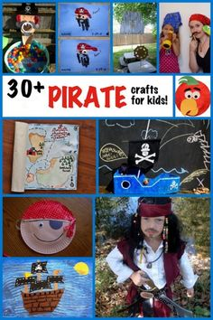30 + Pirate Crafts for kids - Fun Family Crafts