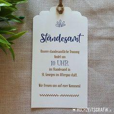 """Gefällt 0 Mal, 0 Kommentare - Hochzeitseinladungen & Co (@hochzeitsgrafik.at) auf Instagram: """">> Standesamt Anhänger als Beilsge für die Hochzeitseinladung  Design und Foto:…"""" Place Cards, Place Card Holders, Cover, Instagram, Design, Registry Office Wedding"""