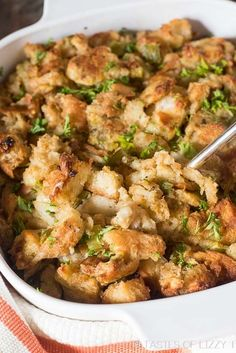 Best Ever Turkey Dressing My Grandma's Thanksgiving Turkey Stuffing has stood the test of time. This buttery, savory, melt-in-your-mouth stuffing is the best stuffing recipe around! Best Thanksgiving Side Dishes, Stuffing Recipes For Thanksgiving, Holiday Recipes, Thanksgiving Dressing, Homemade Turkey Stuffing, Thanksgiving Dinners, Bread Stuffing For Turkey, Family Recipes, Christmas Recipes