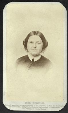 Mary Todd Lincoln, a relation (cousin) of my maternal grandfathers mother. Abraham Lincoln Family, Lincoln Life, Mary Todd Lincoln, Greatest Presidents, American Presidents, American Civil War, American History, Civil War Movies, Eastman House